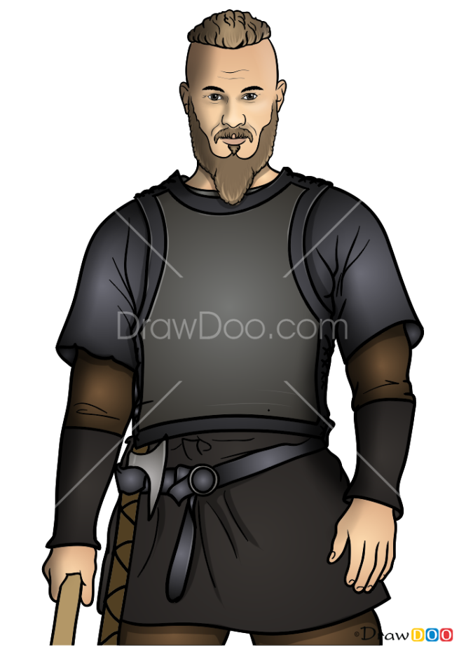 How to Draw Ragnar, Vikings