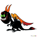 How to Draw Doom Dragon, Wander Over Yonder
