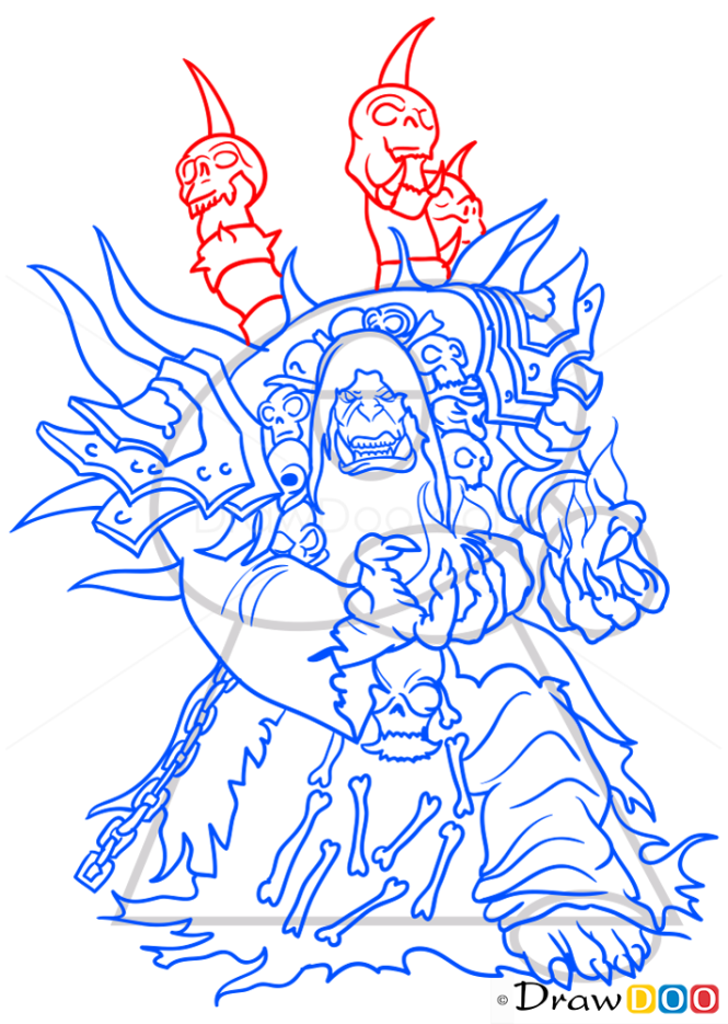 How to Draw Guldan, Warcraft