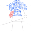 How to Draw Varian Wrynn, Warcraft