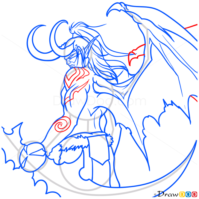 How to Draw Illidan, Warcraft