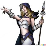 How to Draw Jaine Prounmoon, Warcraft