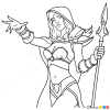 How to Draw Jaine Prounmoon, Warcraft