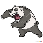 How to Draw Angry Panda, We Bare Bears