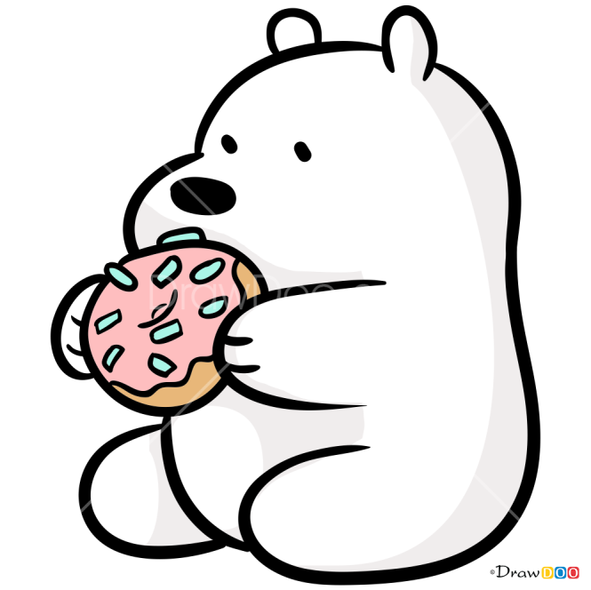 How to Draw Chibi Ice Bear, We Bare Bears