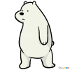 How to Draw Ice Bear, We Bare Bears