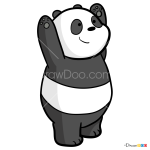 How to Draw Panda, We Bare Bears