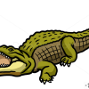 How to Draw Crocodile, Wild Animals