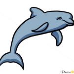 How to Draw Dolphin, Wild Animals