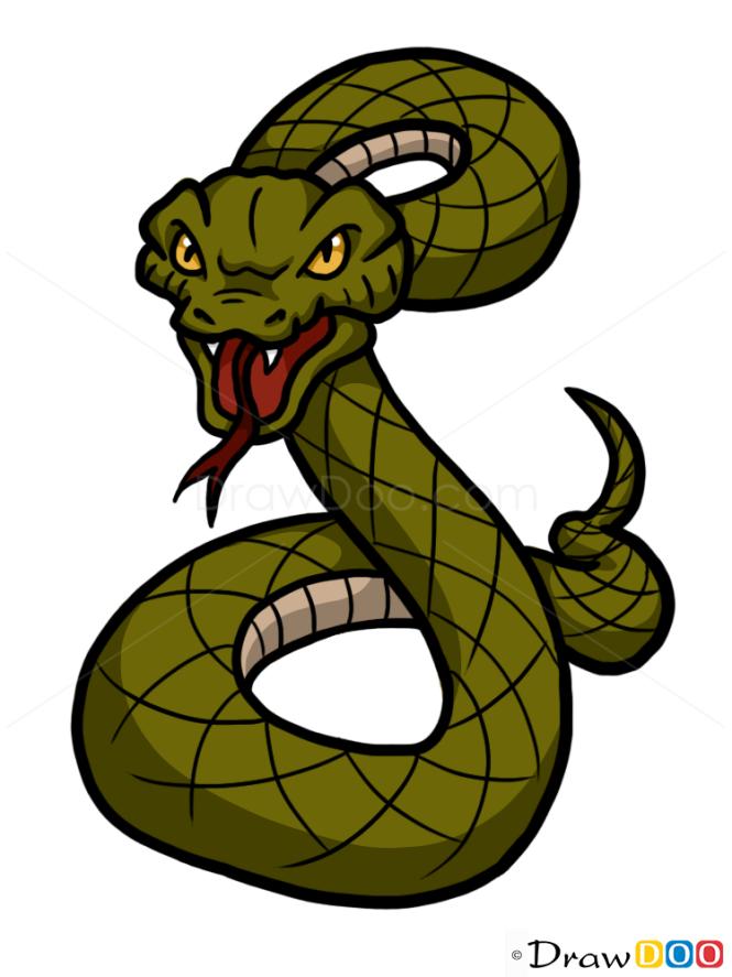 How to Draw Snake, Wild Animals