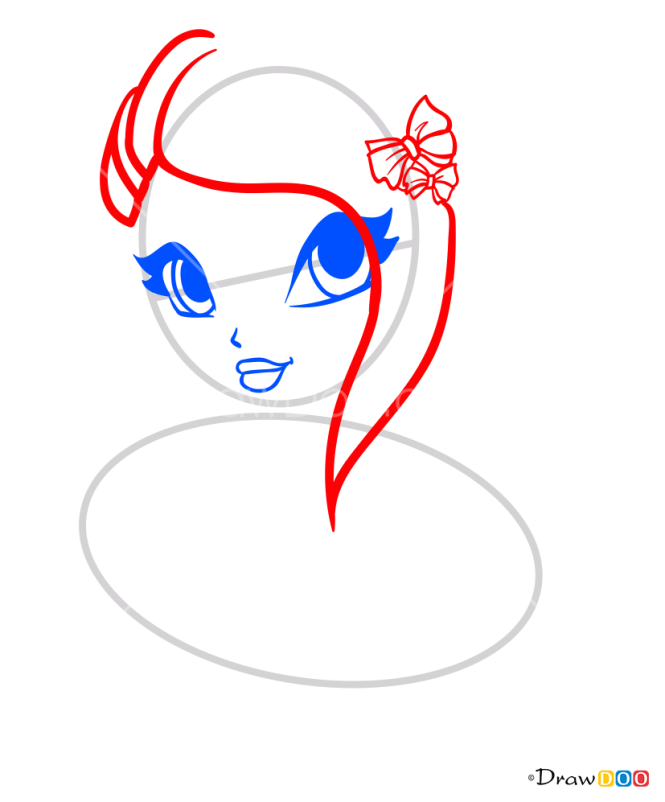 How to Draw Tecna Portrait, Winx Club