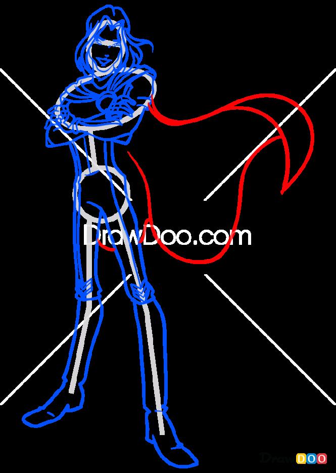 How to Draw Sky, Winx Club