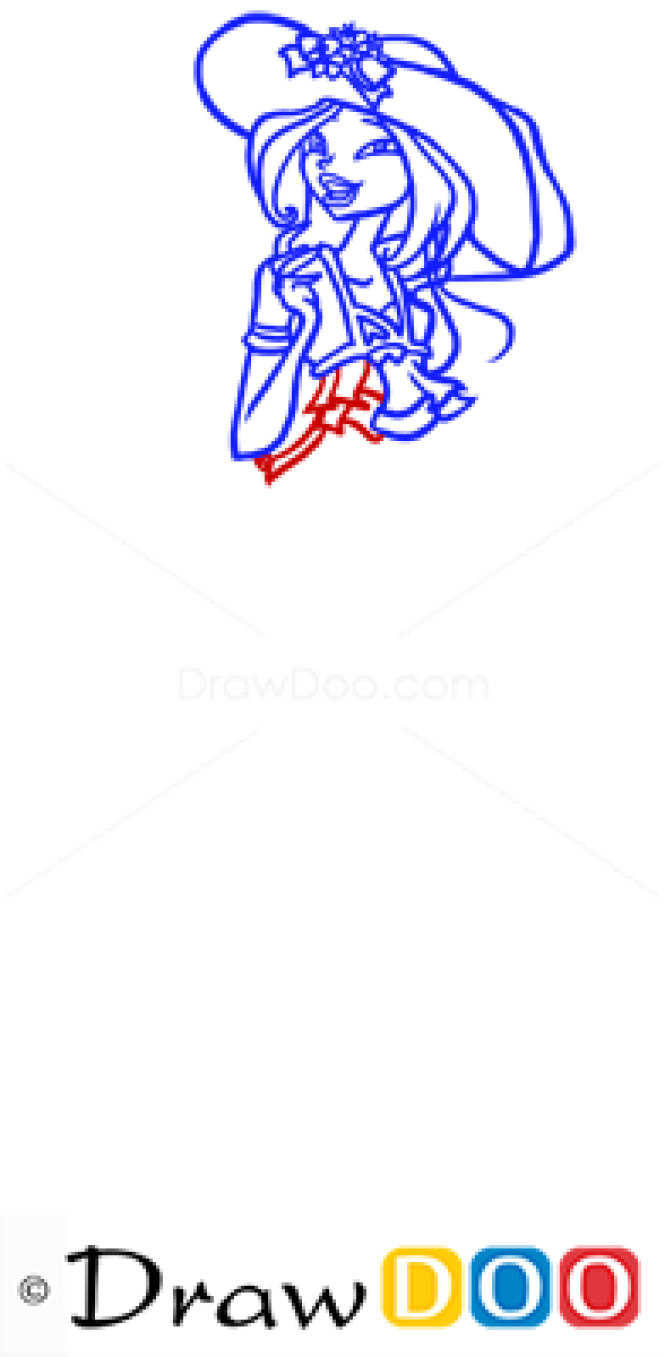 How to Draw Flora, Winx