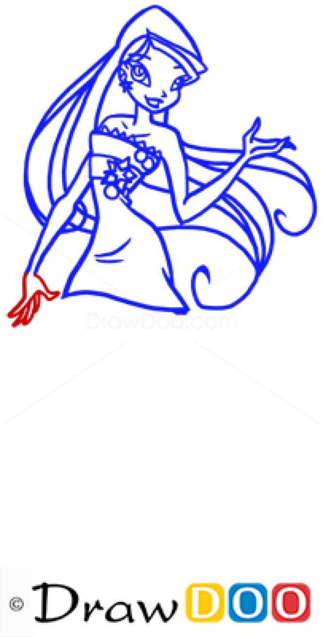 How to Draw Stella, Winx