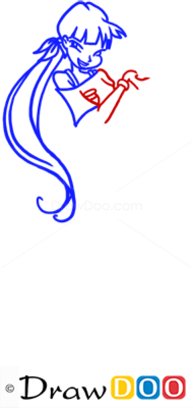 How to Draw Musa, Winx