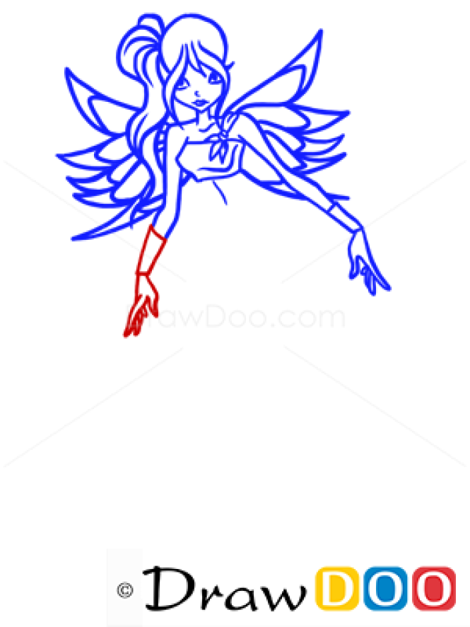 How to Draw Daphne, Winx