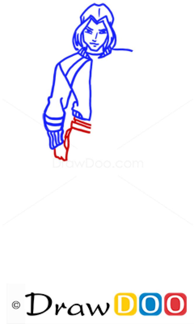 How to Draw Sky, Winx