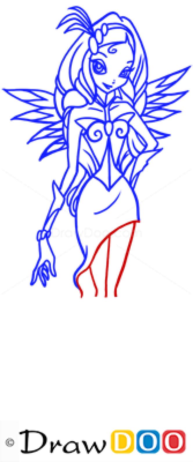 How to Draw Diaspro, Winx