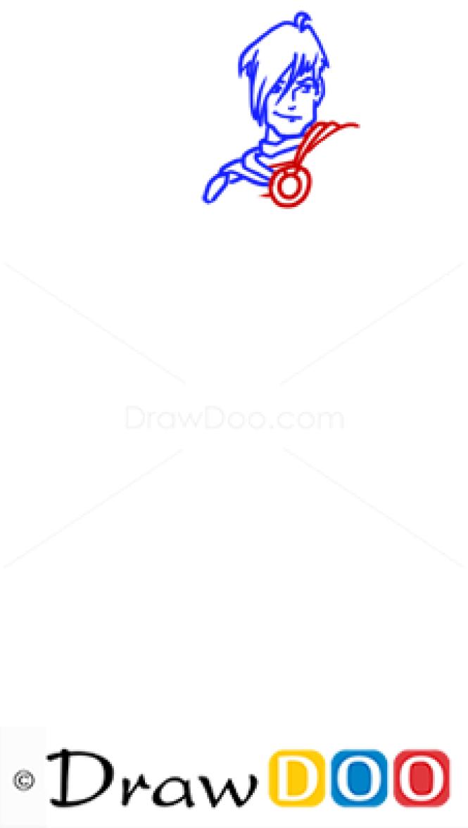 How to Draw Brandon, Winx