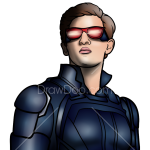 How to Draw Cyclops, X-men