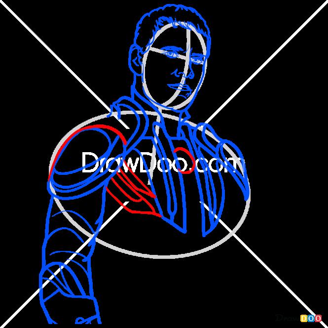How to Draw Magneto, X-men