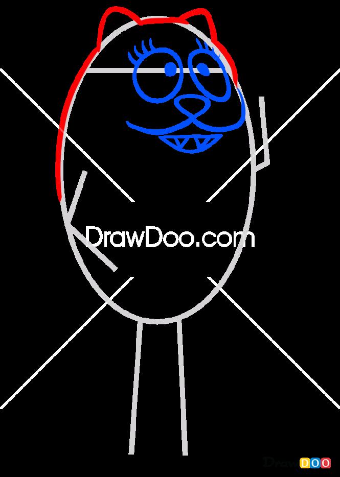 How to Draw Toodee, Yo Gabba Gabba