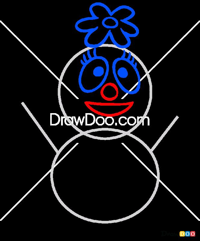 How to Draw Foofa Toy, Yo Gabba Gabba