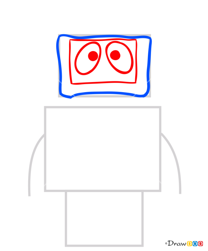 How to Draw Blex Toy, Yo Gabba Gabba