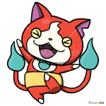How to Draw Jibanyan, Yo-Kai Watch