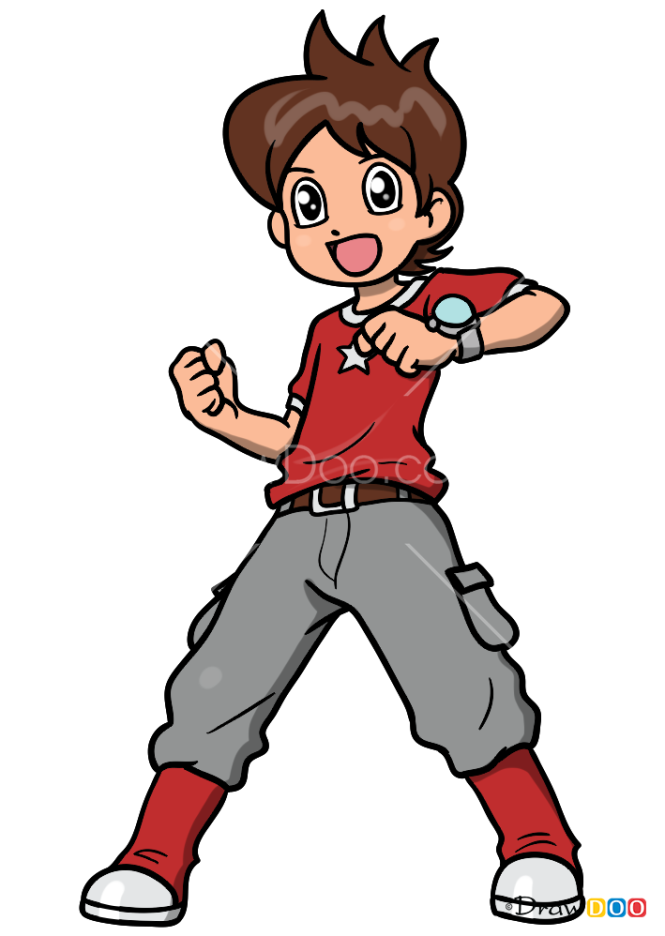 How to Draw Nathan Adams, Yo-Kai Watch
