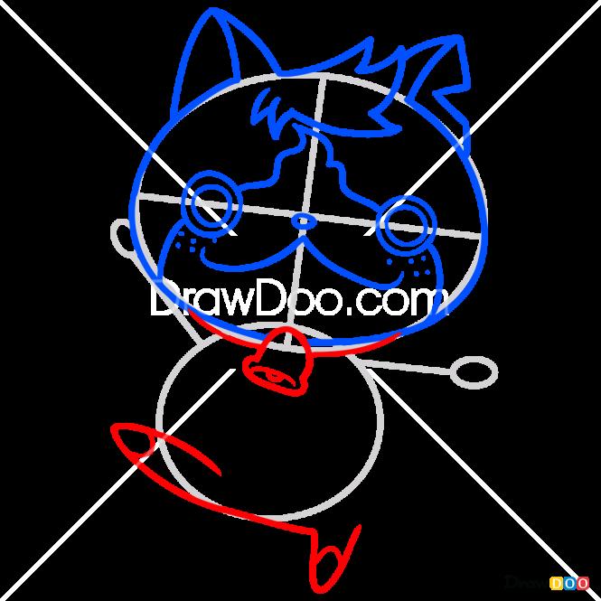 How to Draw Tomnyan, Yo-Kai Watch