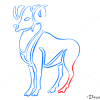 How to Draw Aries, Ram, Zodiac Signs