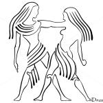 How to Draw Gemini, Twins, Zodiac Signs