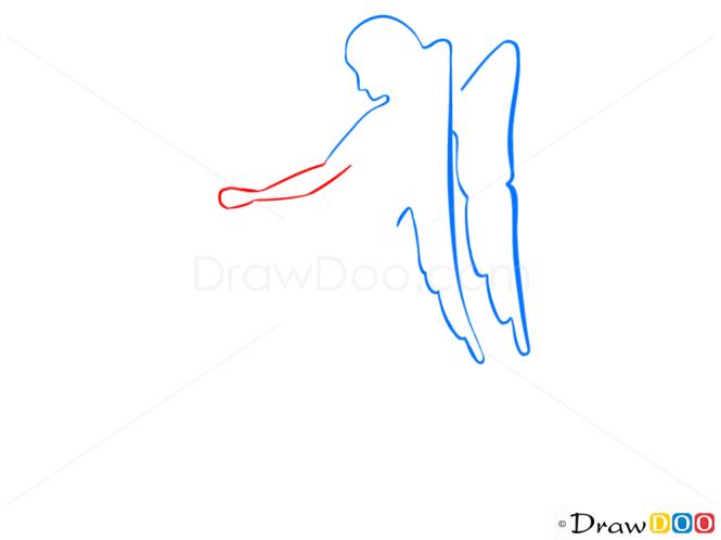 How to Draw Virgo, Virgin, Zodiac Signs