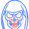 How to Draw Skeleton Face, Zombies and Undead