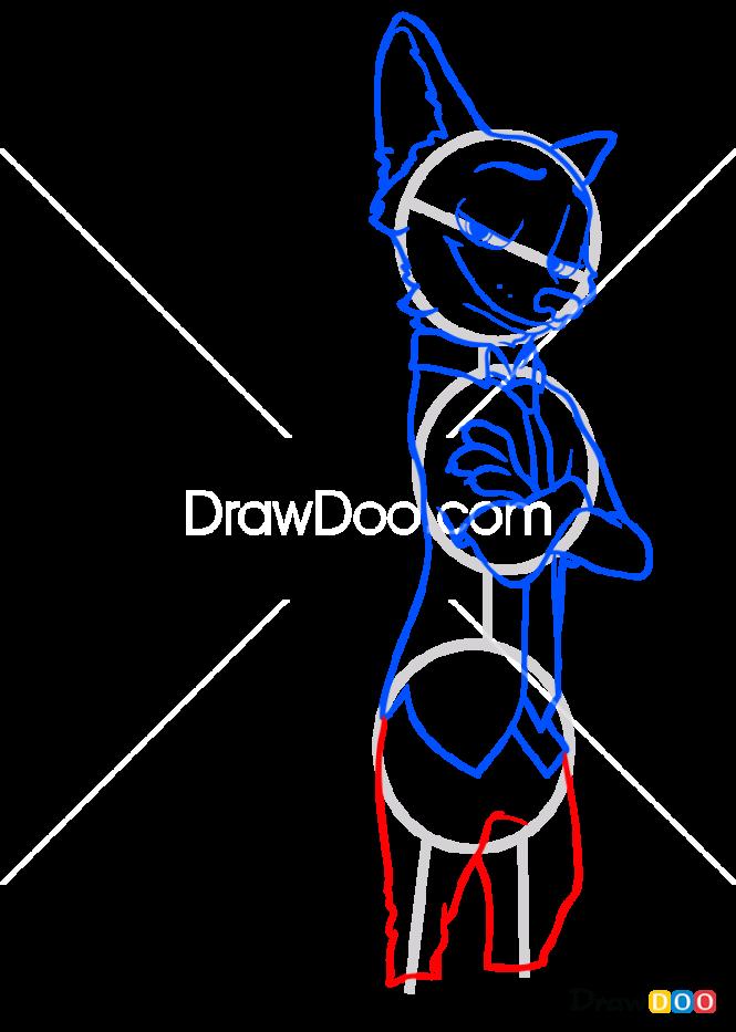 How to Draw Nick Wildz, Zootopia