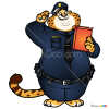 How to Draw Officer Chawhauser, Zootopia