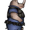 How to Draw Officer McHorn, Zootopia
