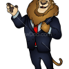 How to Draw Mayor Lionheart, Zootopia