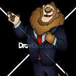 How to Draw Mayor Lionheart, Zootopia