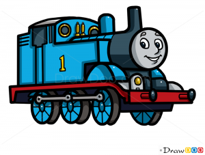 How to Draw Thomas, Ca...