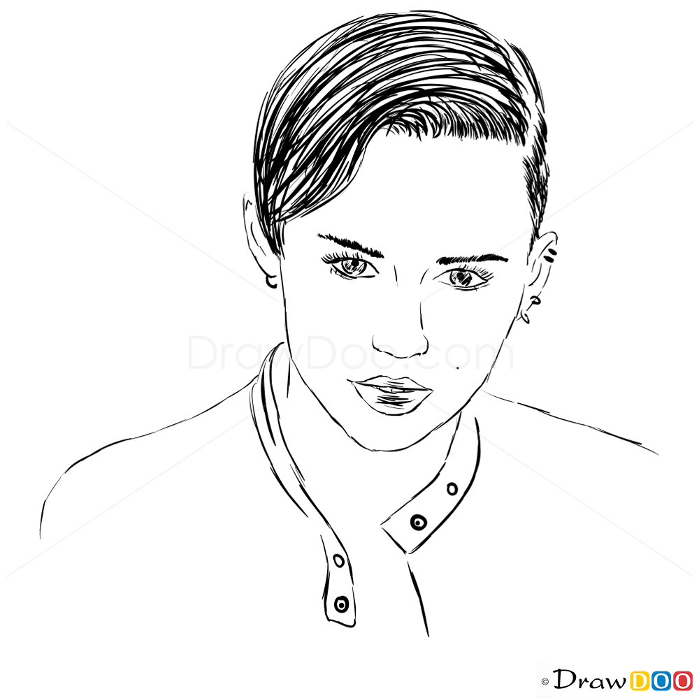 How To Draw Fashion November 2013 How To Draw Miley Cyrus