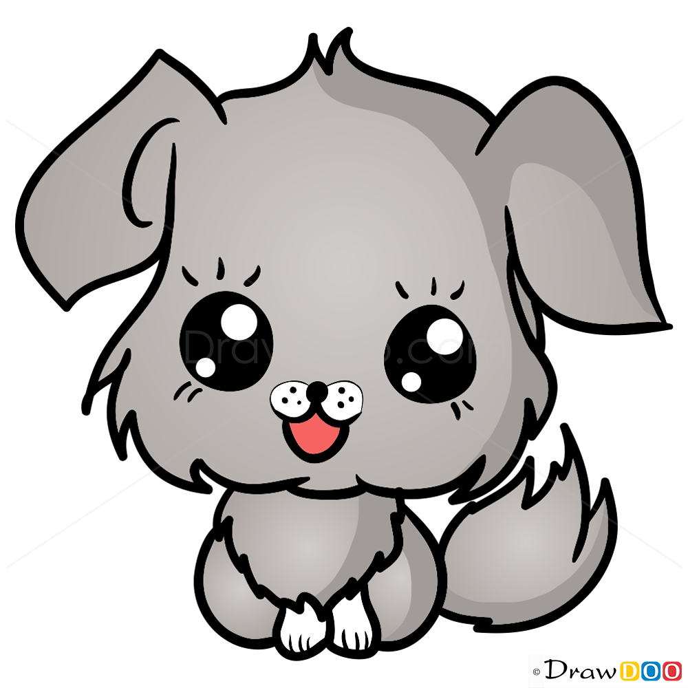 How To Draw Dog Chibi