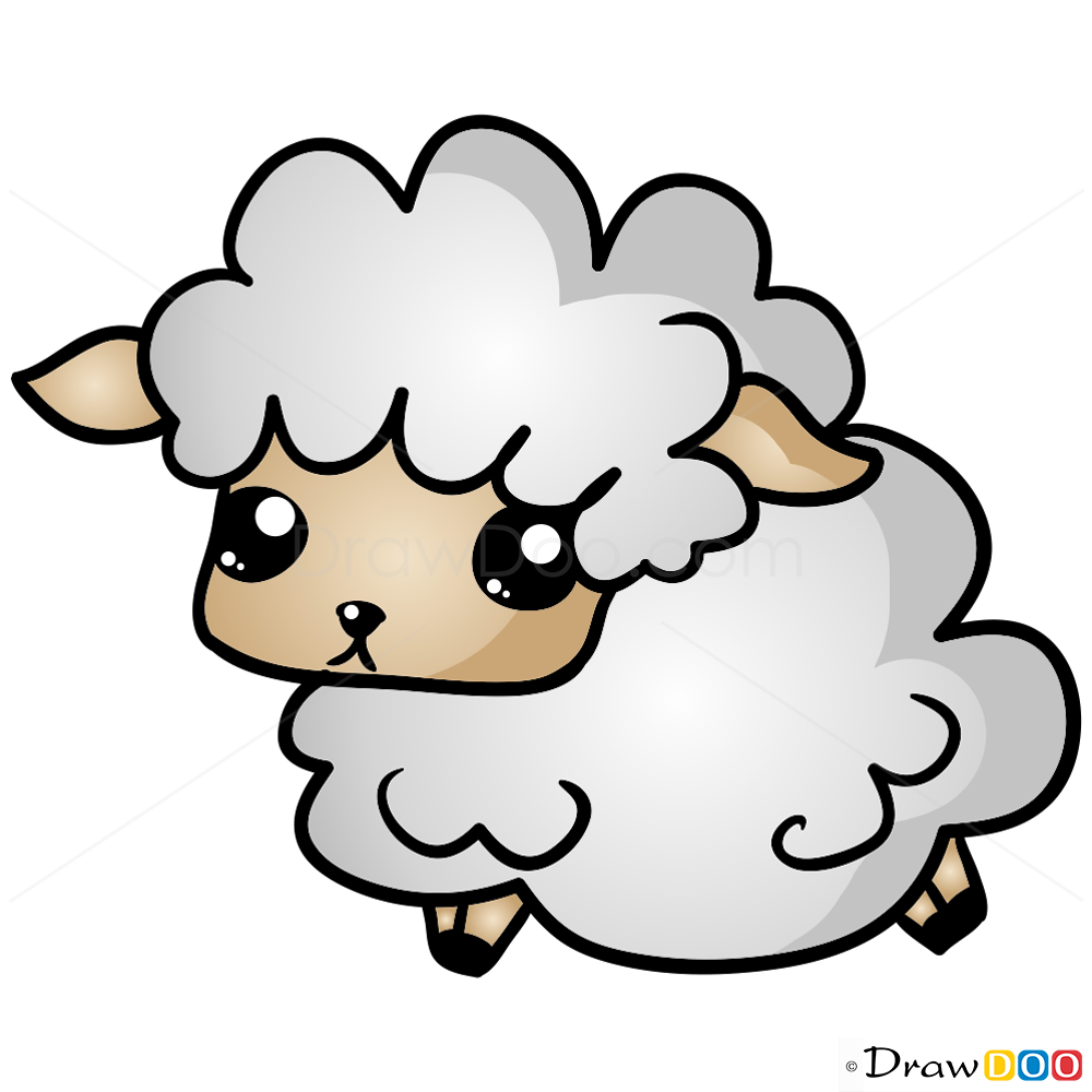 How To Draw Sheep Chibi