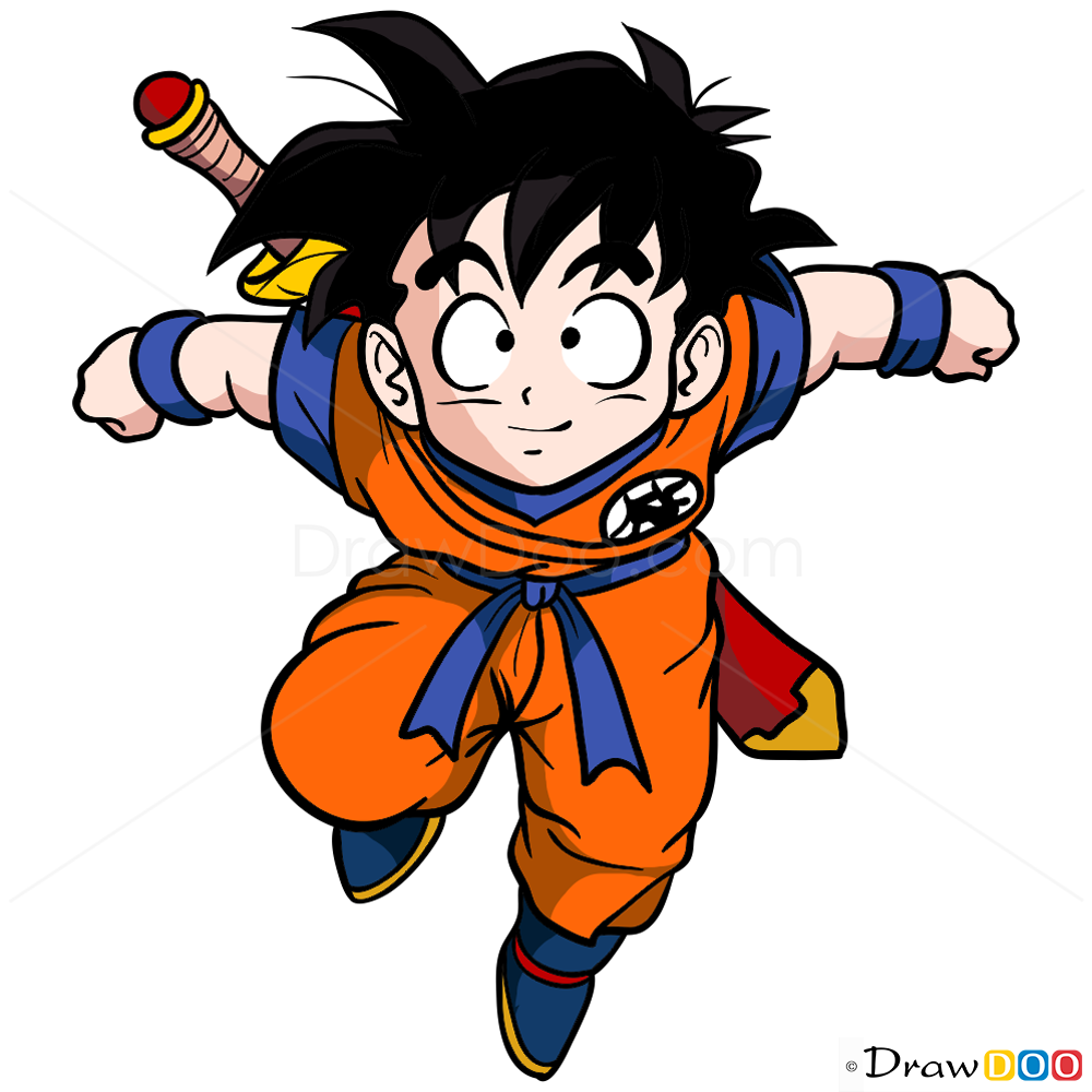 How to draw gohan dragon ball z - Dragon ball z gohan images ...