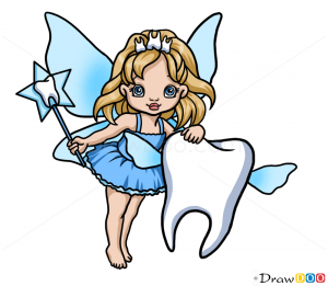 How To Draw Tooth Fairy Fairies