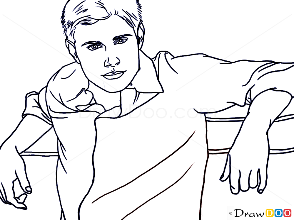How To Draw Jensen Ackles Famous Actors How To Draw