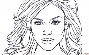 How To Draw Jessica Alba Famous Actors