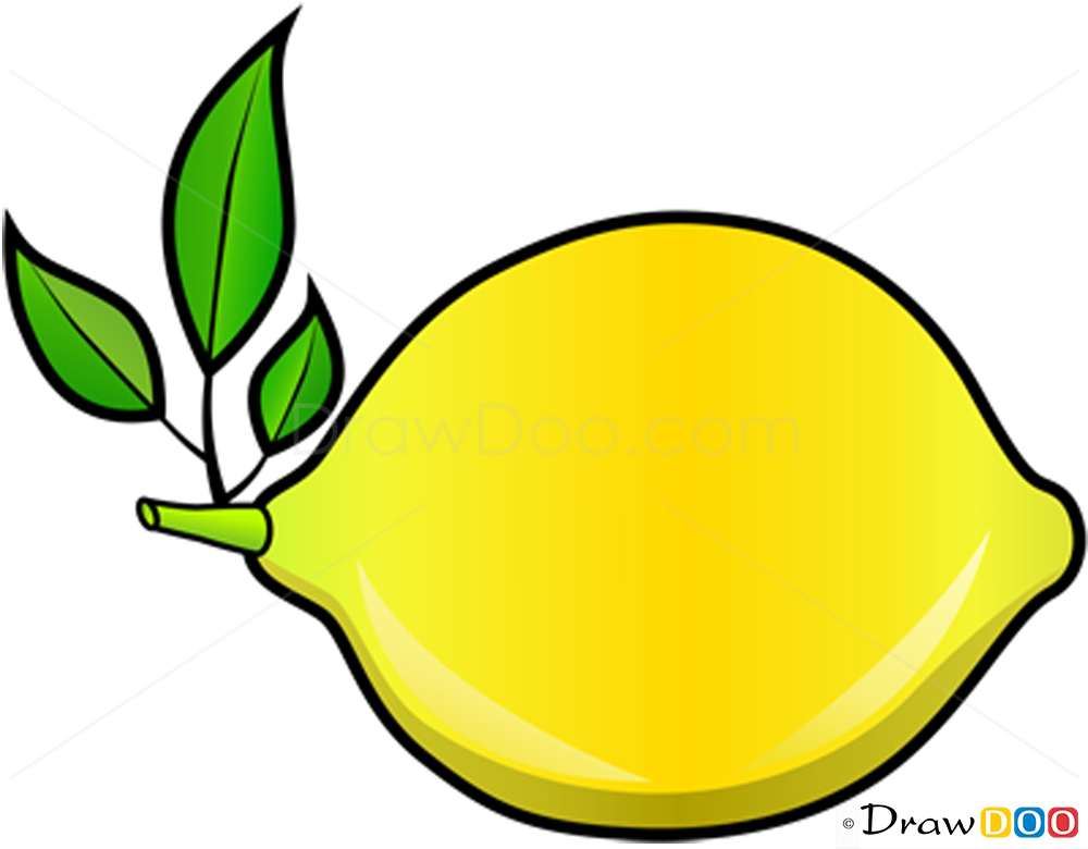 How To Draw Lemon Fruits