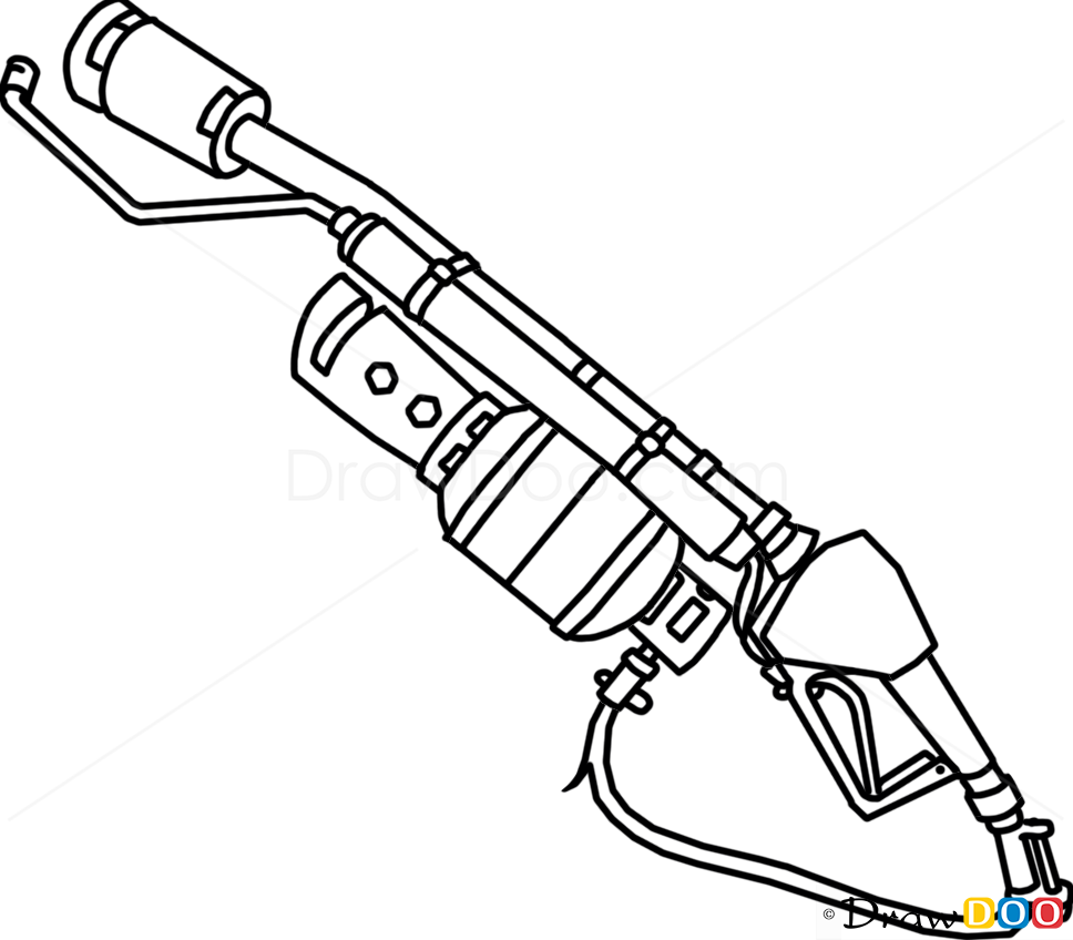 widowmaker gun how to draw